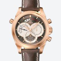 Omega (オメガ) De Ville 新品 2015 自動巻き クロノグラフ 正規のボックスと正規の書類付属の時計 4648.60.37