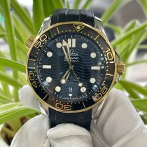 歐米茄 Seamaster Diver 300 M 金/鋼 42mm 黑色 無數字