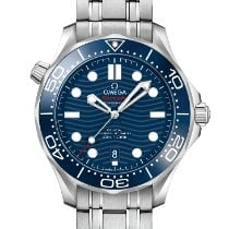 Omega Seamaster Diver 300 M Steel 42mm Blue No numerals United States of America, New York, New York City