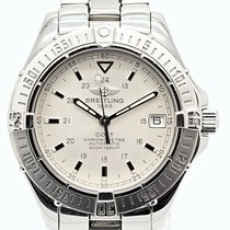 Breitling Colt Automatic Steel 38mm Silver