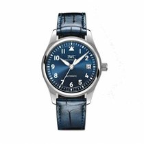 IWC Pilot's Watch Automatic 36 Acciaio 36mm Blu Arabi Italia, Torino