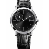 Piaget новые Механические Малый секундный циферблат Оригинальное состояние/подлинные части 29mm Белое золото Сапфировое стекло