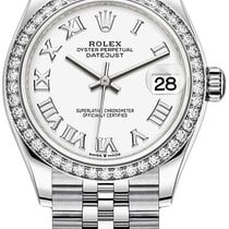 Rolex 278384rbr White Roman Jubilee Steel 2021 Datejust 31mm new United States of America, New York, Airmont