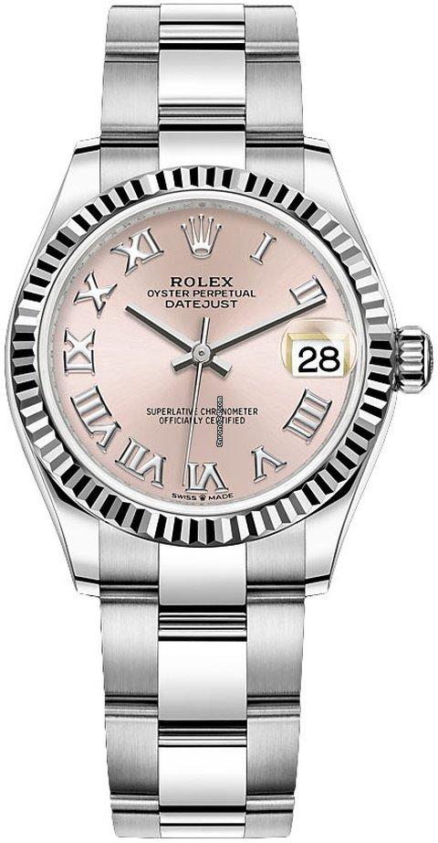 Rolex Datejust 31 278274 Pink Roman Oyster 2021 new