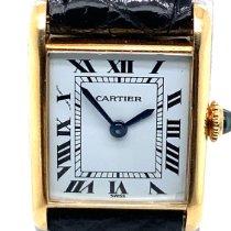 Cartier Tank Louis Cartier Yellow gold 18,5mm White Roman numerals