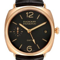 Panerai Rose gold Manual winding Brown Arabic numerals 47mm pre-owned