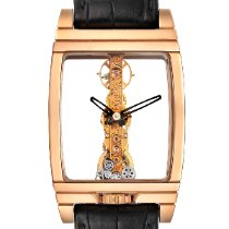 Corum Golden Bridge Roségold 34mm Transparent