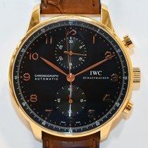 IWC Portuguese Chronograph Oro rosa 41mm Negro Arábigos España, Madrid