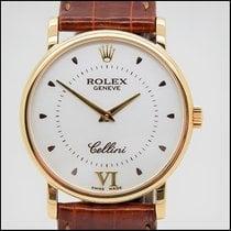 Rolex Cellini Oro amarillo 32mm Blanco Romanos España, BARCELONA