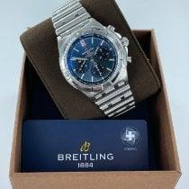Breitling Chronomat Stål 42mm Blå Ingen tall