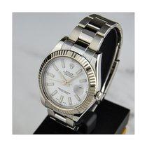 Rolex Datejust II подержанные 41mm Белый Дата Сталь