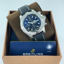 Breitling Avenger Сталь 45mm Черный