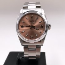 Rolex Oyster Perpetual 31 Steel 31mm Brown Arabic numerals