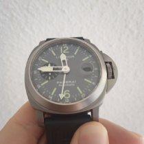 Panerai Luminor GMT Automatic gebraucht 44mm GMT/Zweite Zeitzone