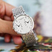 바쉐론 콘스탄틴 Vacheron Constantin Dual Time Woven Bracelet 매우 우수 화이트골드 수동감기