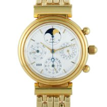 IWC Da Vinci Perpetual Calendar Yellow gold 39mm White United States of America, Pennsylvania, Southampton