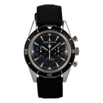 Jaeger-LeCoultre Deep Sea Chronograph Steel 42mm Black No numerals