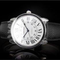 Cartier Stahl Automatik Silber Römisch 42mm neu Ronde Croisière de Cartier