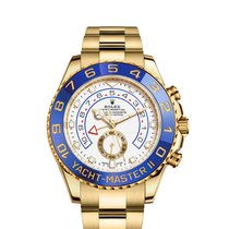 Rolex Yellow gold Automatic White 44mm new Yacht-Master II