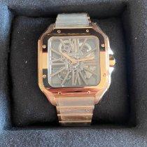 Cartier Santos (submodel) Roségold 39.8mm Transparent Römisch Deutschland, Butzbach