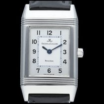 Jaeger-LeCoultre Reverso Classic Small pre-owned 20mm Silver Leather