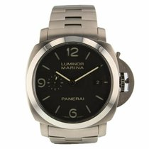 Panerai PAM00352 Titanium 2010 46mm pre-owned United States of America, New York, New York