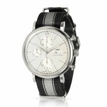 IWC IW391007 Steel 2010 Portofino Chronograph 41mm pre-owned United States of America, New York, New York