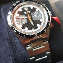 Tudor Heritage Chrono nuevo 2021 Automático Cronógrafo Reloj con estuche y documentos originales 70330N
