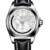 Breitling Galactic Unitime Steel 44mm White United States of America, New York, Brooklyn