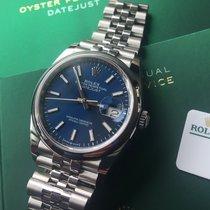 Rolex Datejust Stahl 36mm Blau Deutschland, Eltville