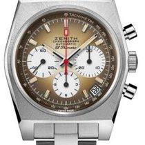 Zenith El Primero Chronomaster neu 2021 Automatik Chronograph Uhr mit Original-Box und Original-Papieren 03.A384.400/385.M385