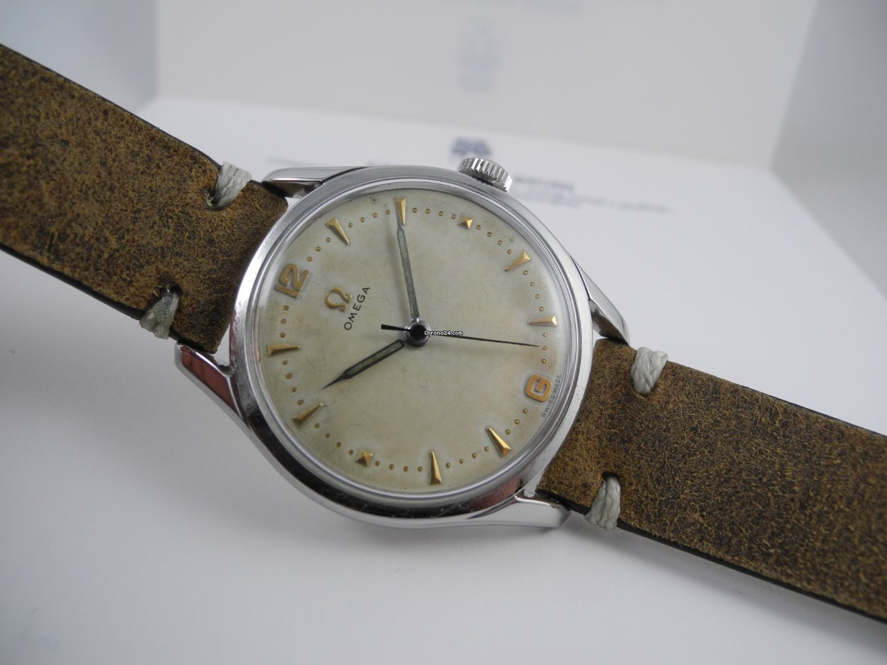 Omega 2640 1952 pre-owned