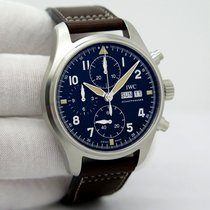 IWC Pilot Spitfire Chronograph new Automatic Watch with original box and original papers IW3879