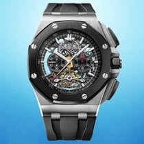 Audemars Piguet Royal Oak Offshore Tourbillon Chronograph 26348IO.OO.A002CA.01 Very good Titanium 44mm Chronograph United States of America, New York, New York