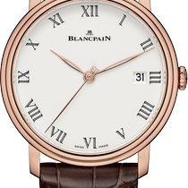 Blancpain Villeret neu 2020 Automatik Uhr mit Original-Box und Original-Papieren 6630-3631-55B