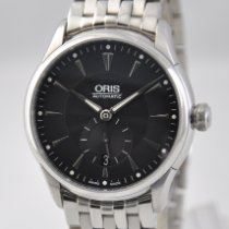 Oris Artelier Small Second Steel 40mm Black United States of America, Ohio, Mason