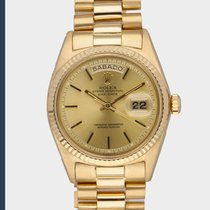 Rolex Yellow gold 36mm Automatic 1803 pre-owned