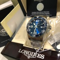 Longines HydroConquest Steel 43mm Blue Arabic numerals