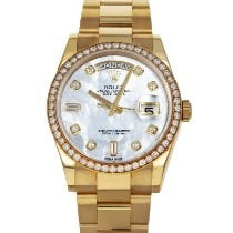 Rolex Day-Date 36 Yellow gold 36mm Mother of pearl No numerals United States of America, Maryland, Baltimore, MD