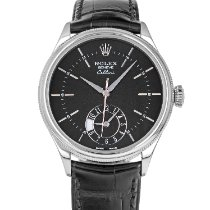 Rolex Cellini Dual Time White gold 39mm Black No numerals United States of America, Maryland, Baltimore, MD