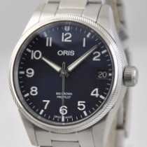 Oris Big Crown ProPilot Date Stahl 41mm Blau