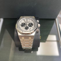 Audemars Piguet pre-owned Automatic 41mm Silver Sapphire crystal 5 ATM
