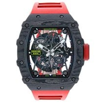 Richard Mille RM 035 RM 35-02 Sehr gut Carbon 49.94mm Automatik