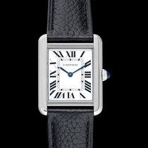 Cartier Tank Solo new 2021 Quartz Watch with original box and original papers WSTA0030