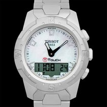 Tissot T-Touch II Titanium 43mm Mother of pearl United States of America, California, Burlingame