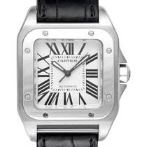 Cartier Santos 100 new 2021 Automatic Watch with original box and original papers W20106X8