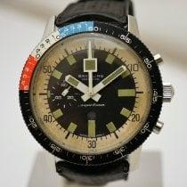 Breitling Superocean Chronograph II подержанные 42mm Черный Хронограф Кожа