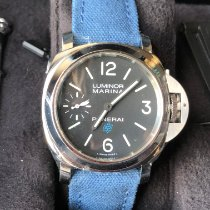 Panerai Luminor Marina new 2021 Manual winding Watch with original box and original papers PAM 00777