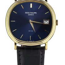 Patek Philippe Golden Ellipse Yellow gold 34.5mm Blue United States of America, Illinois, BUFFALO GROVE