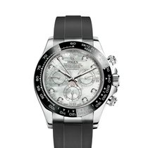 Rolex White gold Automatic Mother of pearl 40mm new Daytona